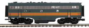 MTH 20-21456-3 Milwaukee Road F-3 B-Unit Diesel (Non-Powered)
