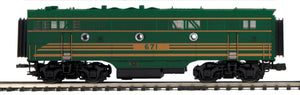 MTH 20-21457-3 Maine Central F-3 B-Unit Diesel (Non-Powered)