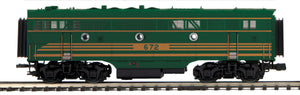 MTH 20-21458-3 Maine Central F-3 B-Unit Diesel (Non-Powered)