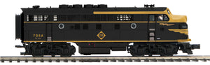MTH 20-21460-4 Erie F-3 A Unit Non-Powered Diesel Engine (Hi-Rail Wheels)