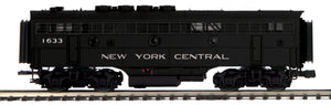 "MTH 20-21461-3 - F-3 B-Unit Diesel ""New York Central"" (Non-Powered)"