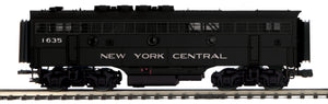 "MTH 20-21462-3 - F-3 B-Unit Diesel ""New York Central"" (Non-Powered)"