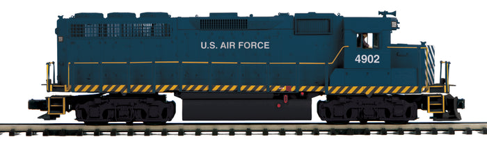 MTH 20-21469-1 U.S. Air Force GP-40 Diesel Engine w/Proto-Sound 3.0 (Hi-Rail Wheels)