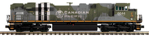 MTH 20-21499-1 Canadian Pacific SD70ACe Diesel Engine w/Proto-Sound 3.0 (Hi-Rail Wheels)