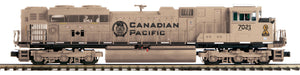 MTH 20-21501-1 Canadian Pacific SD70ACe Diesel Engine w/Proto-Sound 3.0 (Hi-Rail Wheels)