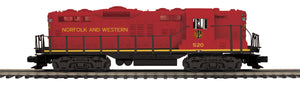 "MTH 20-21520-1 - GP-9 Diesel Engine ""Norfolk & Western"" w/ PS3 #520 (Hi-Rail Wheels)"