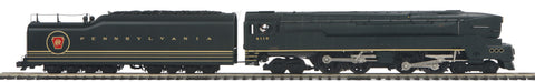 "MTH 20-3517-1 - 4-4-4-4 T-1 Duplex Steam Engine ""Pennsylvania"" w/ PS3 (Hi-Rail Wheels)"