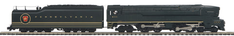 "MTH 20-3518-1 - 4-4-4-4 T-1 Duplex Steam Engine ""Pennsylvania"" w/ PS3 (Hi-Rail Wheels)"