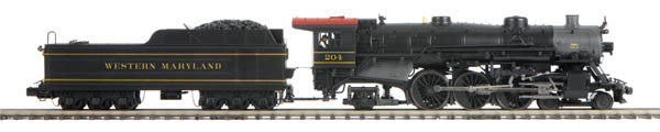 "MTH 20-3605-1 - 4-6-2 USRA Heavy Pacific Steam Engine ""Western Maryland"" w/ PS3"