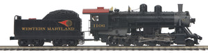 "MTH 22-3633-2 - 2-10-0 Russian Decapod ""Western Maryland"" w/ PS3 (Scale Wheels)"