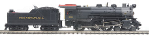 MTH 20-3657-1 Pennsylvania 4-6-0 G-5s Steam Engine w/Proto-Sound 3.0 (Hi-Rail Wheels)