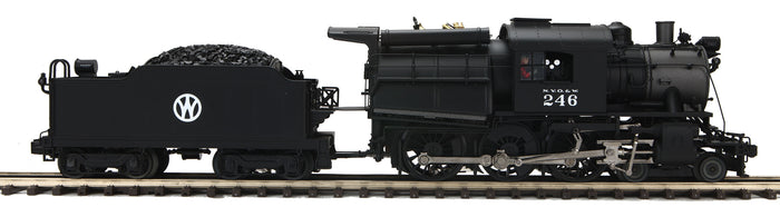 MTH 20-3662-1 New York Ontario & Western 4-6-0 Camelback Steam Engine w/Proto-Sound 3.0 (Hi-Rail Wheels)