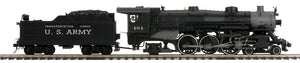 "MTH 20-3747-1 - 4-6-2 USRA Heavy Pacific Steam Engine ""U.S. Army"" w/ PS3"