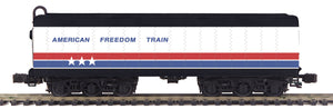 "MTH 20-3764 - Auxiliary Water Tender III ""American Freedom"" (Hi-Rail Wheels)"