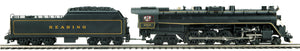 MTH 20-3787-1 Reading 4-8-4 T-1 Steam Locomotive w/Proto-Sound 3.0 (Hi-Rail Wheels)