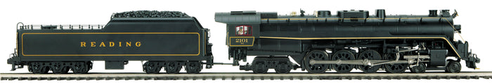 "MTH 20-3787-1 - 4-8-4 T-1 Steam Locomotive ""Reading"" w/ PS3 (Hi-Rail Wheels)"