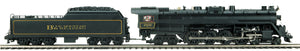MTH 20-3788-1 Blue Mountain & Reading 4-8-4 T-1 Steam Locomotive w/Proto-Sound 3.0 (Hi-Rail Wheels)
