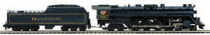 MTH 20-3789-1 Blue Mountain & Reading 4-8-4 T-1 Steam Locomotive w/Proto-Sound 3.0 (Hi-Rail Wheels)