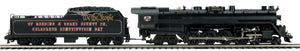 MTH 20-3790-1 Blue Mountain & Reading 4-8-4 T-1 Steam Locomotive w/Proto-Sound 3.0 (Hi-Rail Wheels)