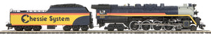 MTH 20-3791-1 Chessie 4-8-4 T-1 Steam Locomotive w/Proto-Sound 3.0 (Hi-Rail Wheels)