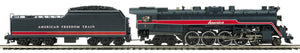 MTH 20-3793-1 American Freedom 4-8-4 T-1 Steam Locomotive w/Proto-Sound 3.0 (Hi-Rail Wheels)