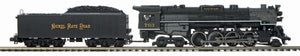 MTH 20-3796-1 Nickel Plate Road 2-8-4 #763 Berkshire Steam Engine w/Proto-Sound 3.0 (Hi-Rail Wheels)