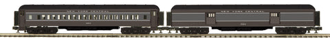 "MTH 20-40055 - 70' Madison Baggage/Coach Passenger Set ""New York Central"" (2-Car)"