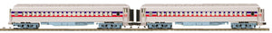 MTH 20-40058 The Freedom Train 2-Car 70' Madison Coach/Coach Passenger Set