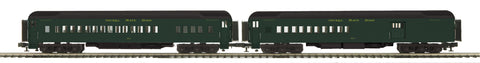 "MTH 20-41040 - 70' Madison Comb/Din Passenger Set ""Nickel Plate Road"" (2-Car)"