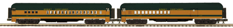 "MTH 20-41042 - 70' Madison Comb/Din Passenger Set ""Great Northern"" (2-Car)"