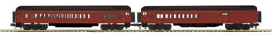"MTH 20-41045 - 70' Madison Comb/Din Passenger Set ""Reading & Northern"" (2-Car)"