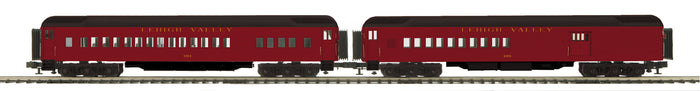 "MTH 20-41047 - 70' Madison Comb/Din Passenger Set ""Lehigh Valley"" (2-Car)"