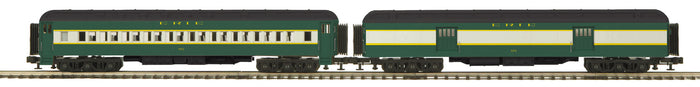 "MTH 20-44030 - 70' Madison Baggage/Coach Passenger Set ""Erie"" (2-Car)"