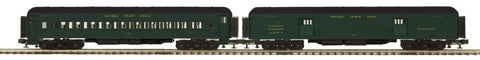 "MTH 20-44040 - 70' Madison Baggage/Coach Passenger Set ""Nickel Plate Road"" (2-Car)"