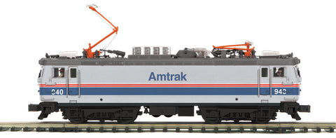 "MTH 20-5711-1 - AEM-7 Electric Locomotive ""Amtrak"" w/ PS3"