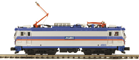 "MTH 20-5714-1 - AEM-7 Electric Locomotive ""MARC"" w/ PS3"