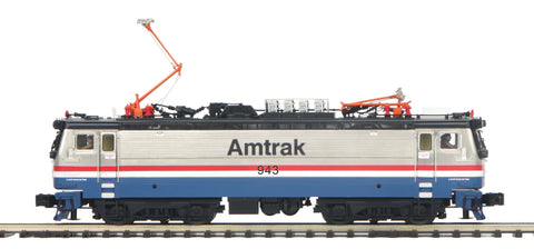 "MTH 20-5717-1 - AEM-7 Electric Locomotive ""Amtrak"" Phase III #943 w/ PS3"