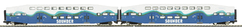 "MTH 20-61048 - Bombardier Passenger Set ""Sounder"" (2-Car)"