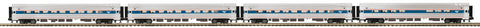"MTH 20-64016 - Amfleet Passenger Set ""Amtrak"" (4-Car)"