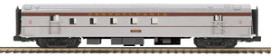 "MTH 20-64067 - 70' Streamlined RPO Passenger Car ""Pennsylvania"" (Ribbed Sided)"