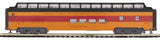 MTH 20-64078 Milwaukee Road 70' Streamlined Full Length Vista Dome Passenger Car (Smooth Sided)
