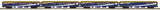 MTH 20-64080 Rocky Mountaineer 4-Car 70' Streamlined Passenger Set  (Smooth Sided)
