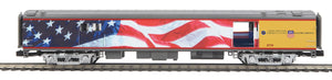 "MTH 20-64089 - 70' Streamlined Passenger Baggage Car ""Union Pacific"" (Smooth Sided)"