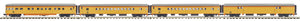 MTH 20-64203 Chessie 4-Car 70' ABS Passenger Set (Smooth)