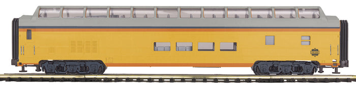 MTH 20-64206 Chessie 70' ABS Full Length Vista Dome Passenger Car (Smooth)