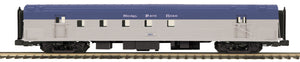 MTH 20-64236 Nickel Plate Road 70' Streamlined RPO Passenger Car (Ribbed Sided)
