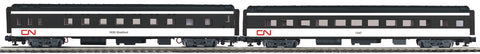 "MTH 20-66264 - 70' Streamlined Slpr/Diner Passenger Set ""Canadian National"" (2-Car)"