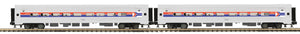 "MTH 20-66285 - Amfleet Passenger Set ""Amtrak"" (2-Car)"