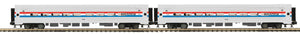 "MTH 20-66286 - Amfleet Passenger Set ""Amtrak"" (2-Car)"