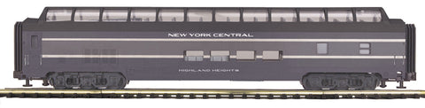 "MTH 20-67283 - 70' Streamlined Full Length Vista Dome Passenger Car ""New York Central"" (Smooth Sided)"
